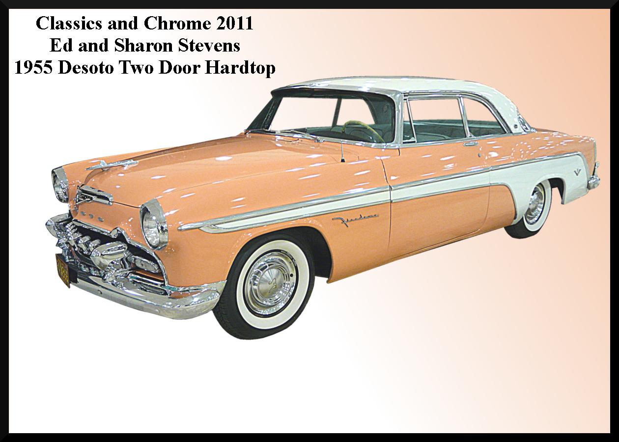 1955 Desoto hardtop.