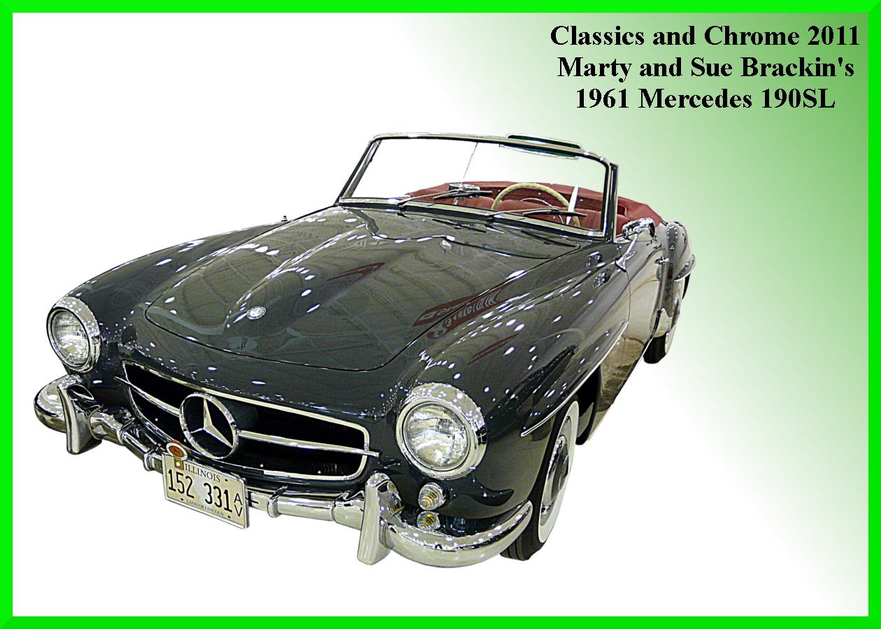1961 Mercedes 190SL.